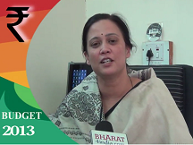 Dr Dhanashri Mahajan Webcast on Union Budget 2013-Part 3