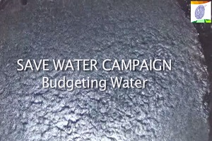 Save Water Campaign: Budgeting Water