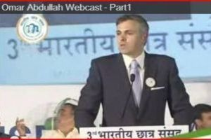 Omar Abdullah Webcast - Part I